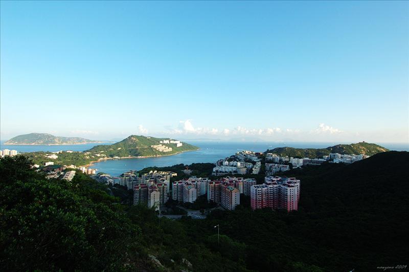 赤柱灣及舂坎山Stanley Bay and Chung Hom Shan