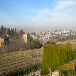 Granada from the Generalife