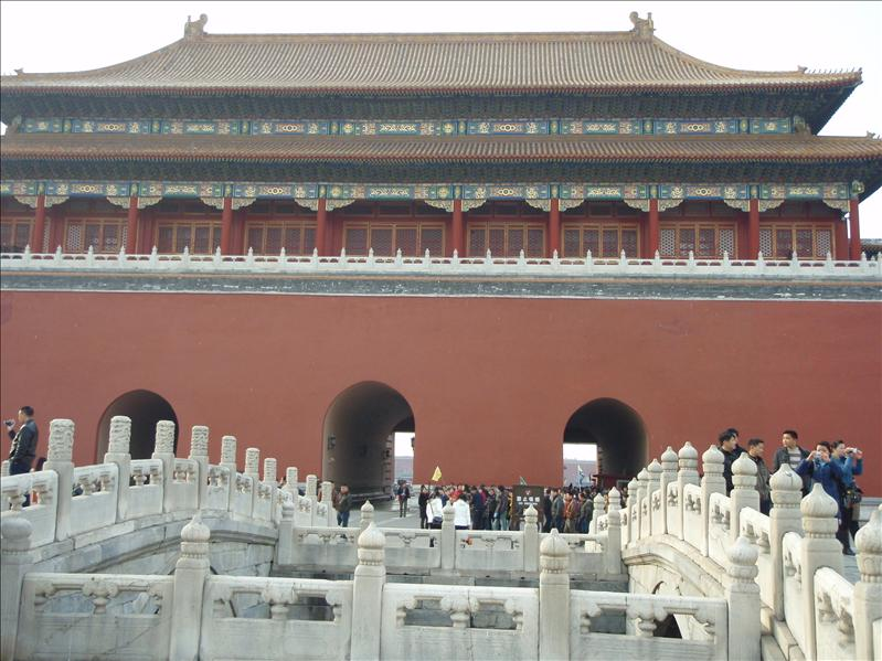 forbidden palace bridges