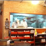 半開放式廚房