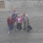 .. and we took a picture of us taking a picture of ourselves at Port Vell.
