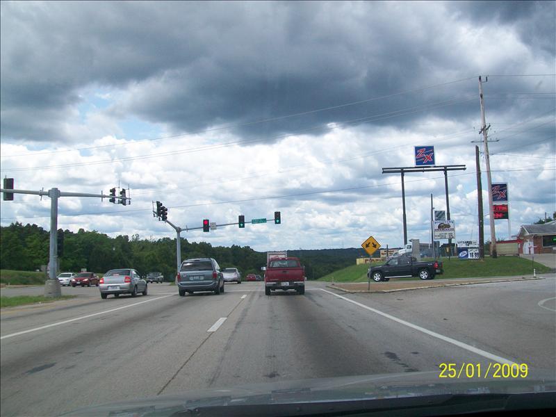 state highway 67 southwest to Farminton Missouri