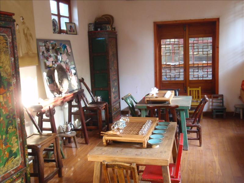 The Hutong's tea room