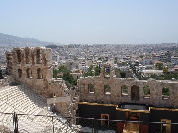 the theatre of herodes atticus.