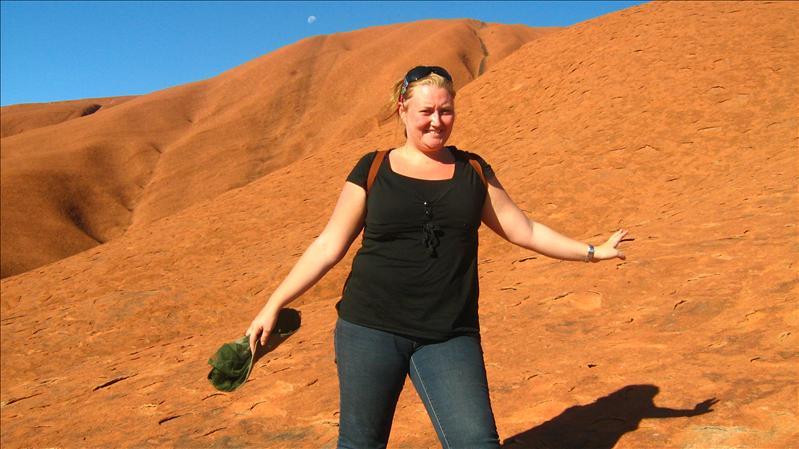 Me on Uluru