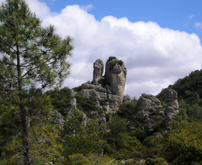 .... and then returned to the sculptured rocks of the Cirque