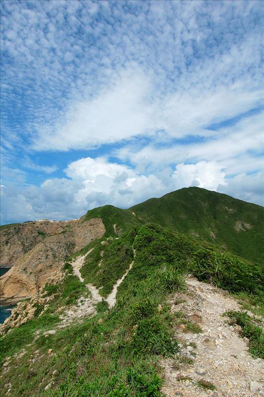 神削峽回望花山