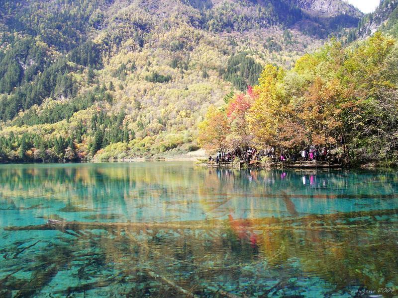 Five Flower Lake (Wǔhuā Hǎi) 五花海
