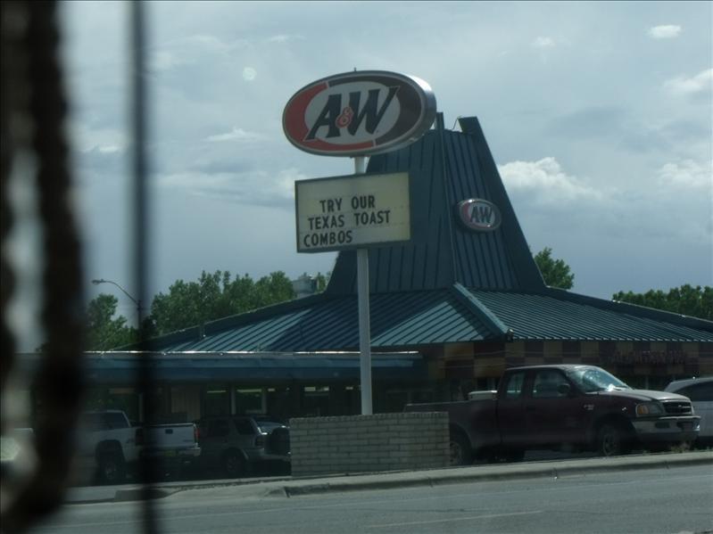 Drive-in A&W