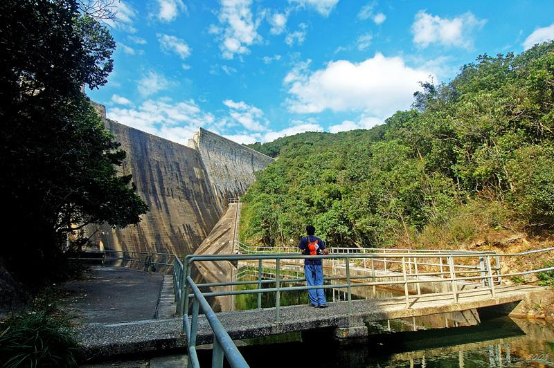 大潭中水塘壩底 Tai Tam Intermediate Reservoir