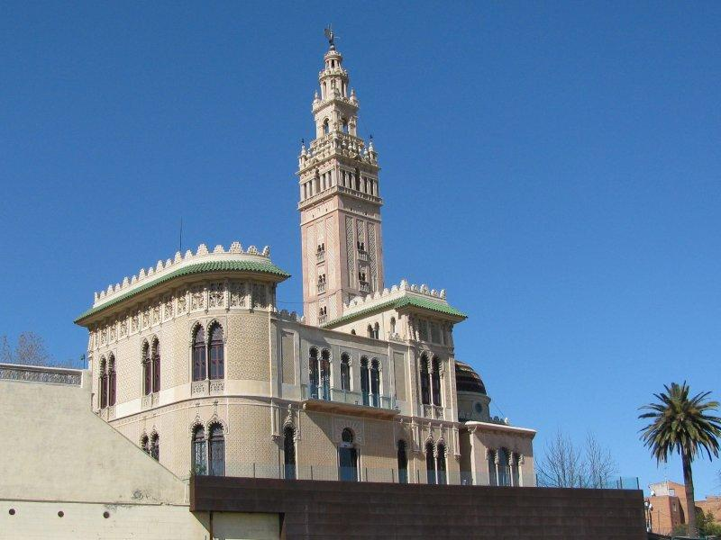 Arboc is a nearby town with a replica of Seville's Giralda ....