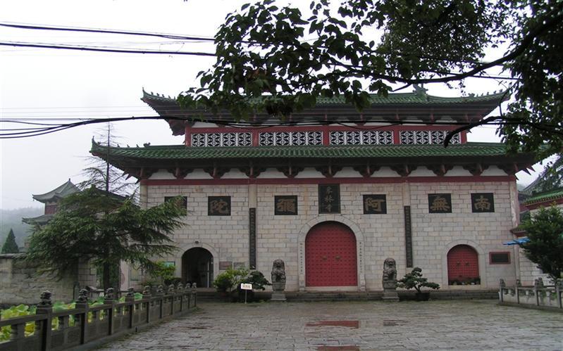 东林寺,(DongLin Temple), JiuJiang, JiangXi, China