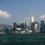 Victoria Harbour,(维多利亚港),Hongkong,(香港),China, Sep 2011