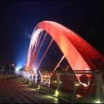 台北, 饒河河堤 彩虹橋