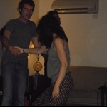 Mary and Trys hitting the dance floor at the after party!