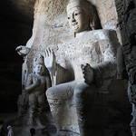Yungang Grottoes(云岗石窟),Shanxi(山西),China,Jun 2011
