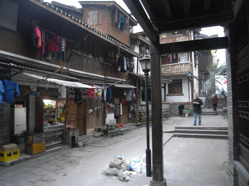 ancient part of chongqing