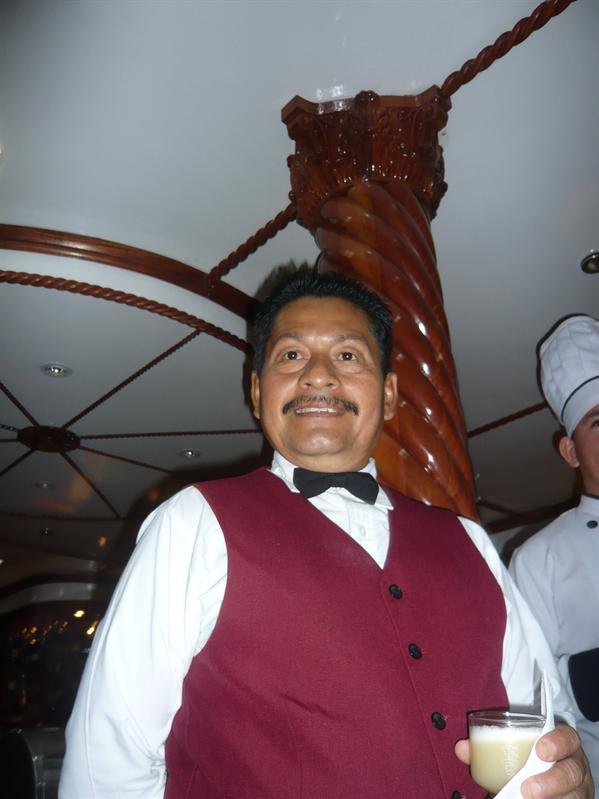 Romelo - our lovely barman!