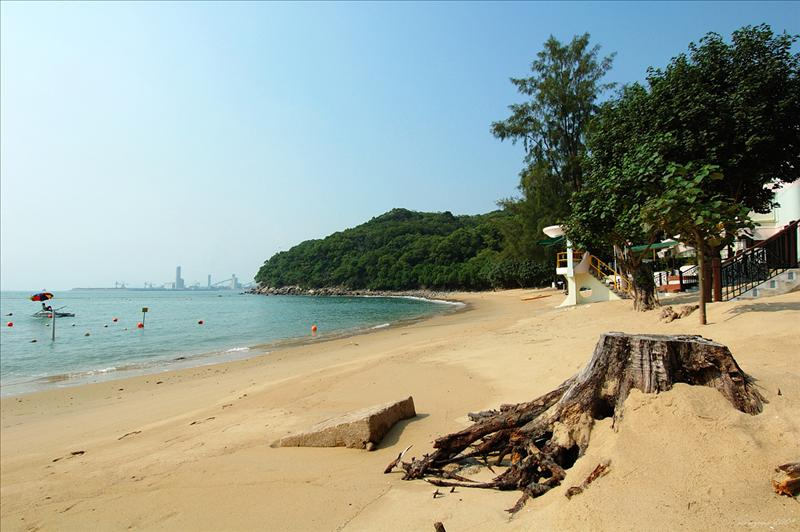 蘆鬚城泳灘Lo So Shing Beach