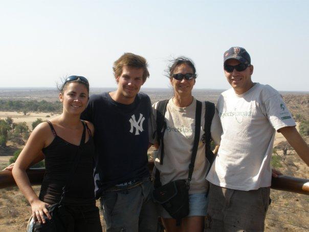 Me, Casper, Marleen and Jamie
