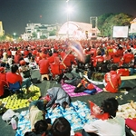 Red Shirt Mob in Rajdumnern