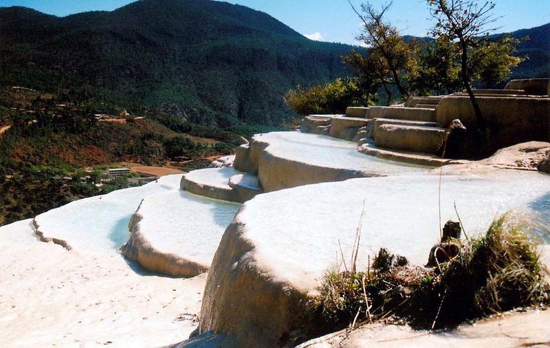 White Water Terrace (Baishuitai) 白水台
