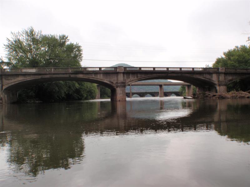 Shermans Creek, 3 bridges