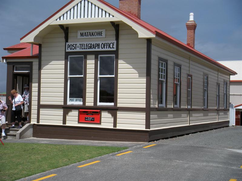 The original post office at Matakohe
