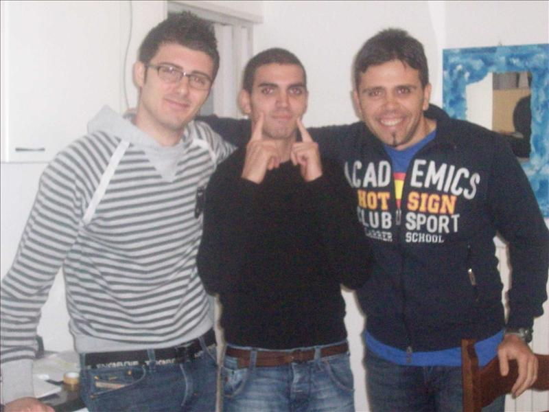 Pierdo, stefano and Roby!