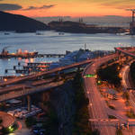 20140809 青衣西路看夕陽 Tsing Yi Road West