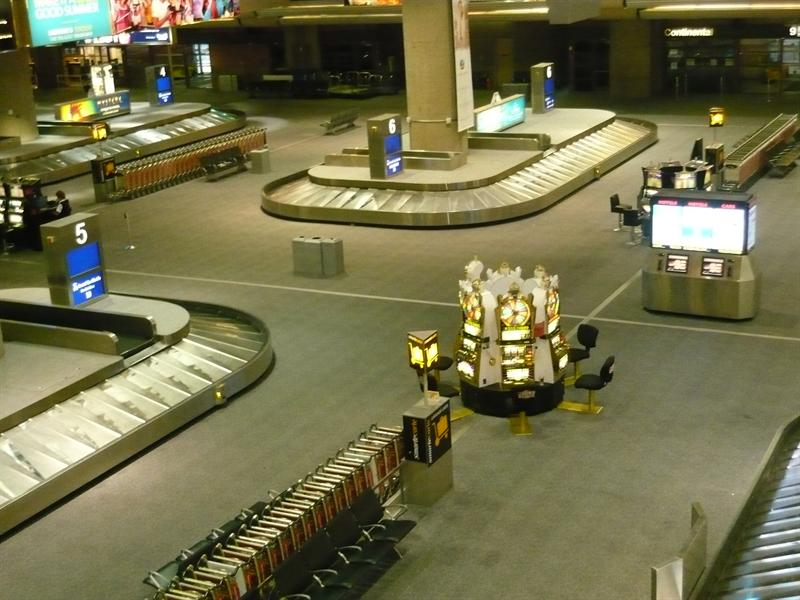 slots at the baggage claim Las Vegas