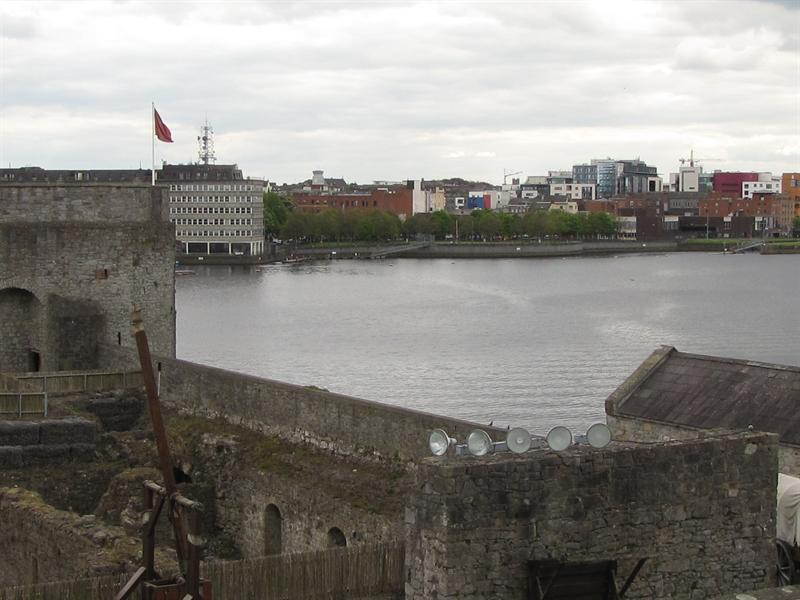 View towards downtown Limerick