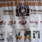 Vientiane breakfast at Cafe Croissant d