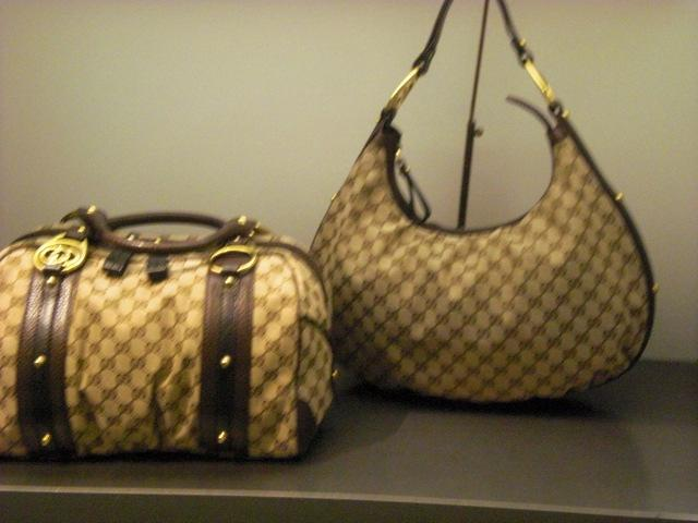 They even had a $5400 bag in a locked glass case. It was all black and made of.... GIANT PYTHON SKIN!!!