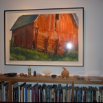 The red barn...