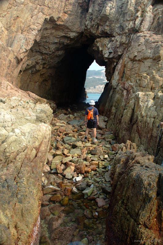 木棉洞西洞口內望