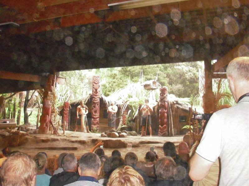 The Maori show - v v touristy!