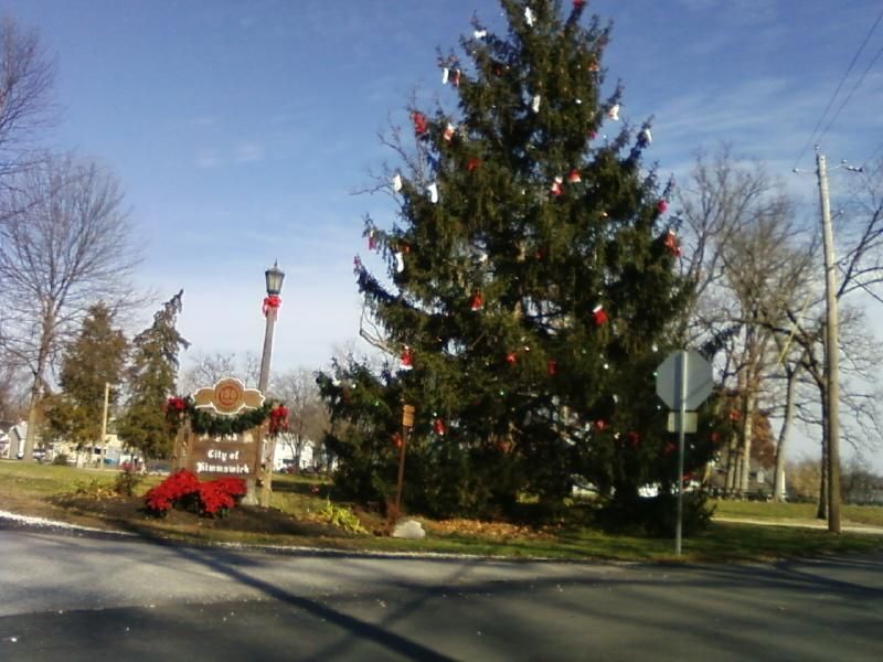 Christmas entrance to Kimmswick 2009