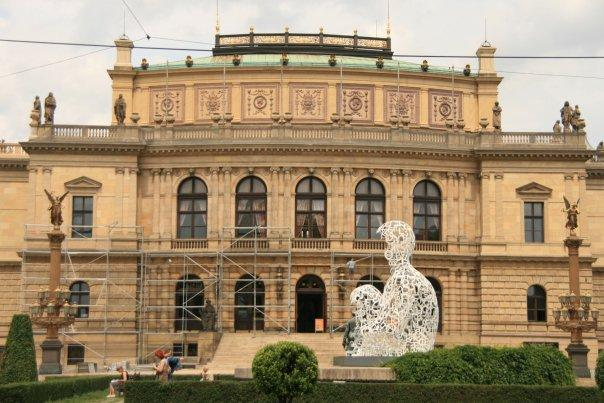 Rudolfinum - one of Prague's prestigious concert and exhibition halls