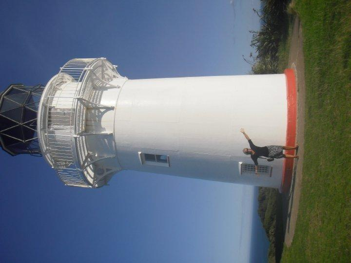 The lighthouse - most easterly point in NZ