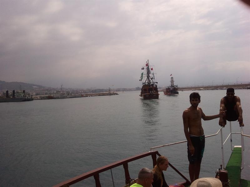 båt tur i Tyrkia