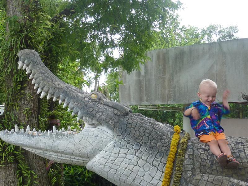 Phuket Zoo garden