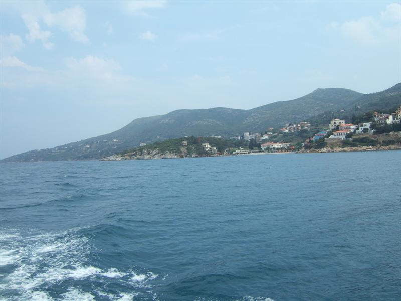 Nearing Samos