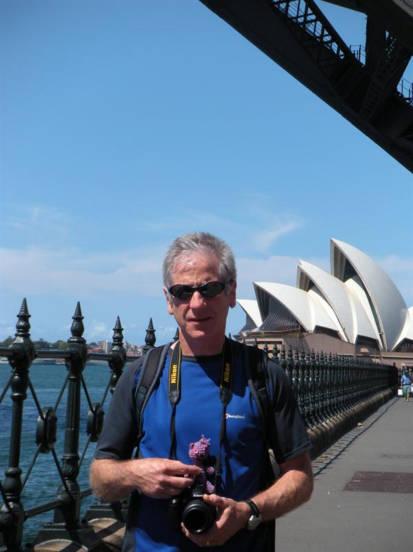 Pete and the Sydney Opera House