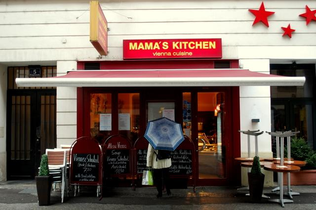 Mama's Kitchen for lunch with the locals
