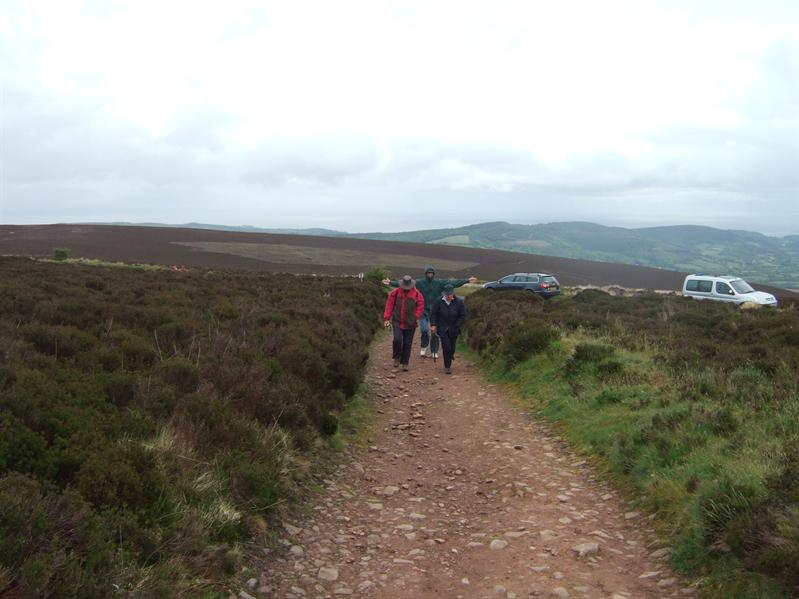 Walking to Dunkery Beacon