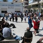 Local sardana dancing on Sundays.