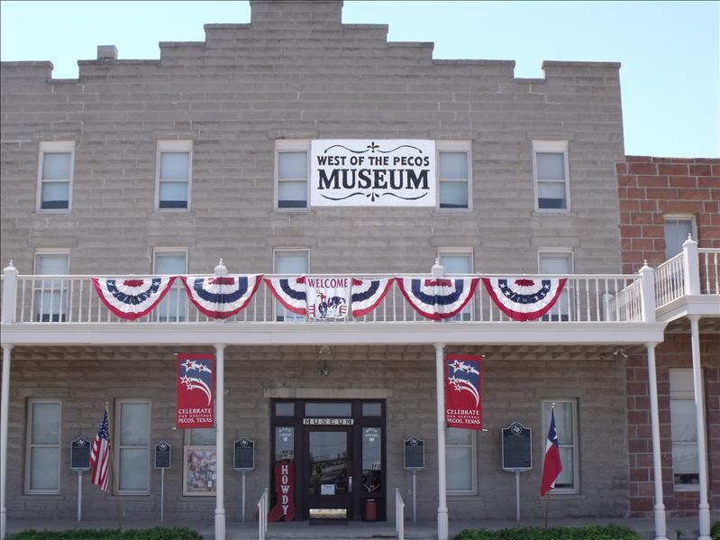 Museum in Pecos, TX