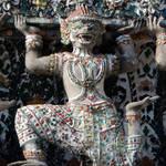 Wat Arun - Bangkook - Geruda