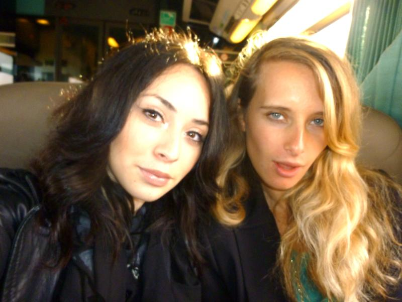 On the train to champagne, France :D (10/9)